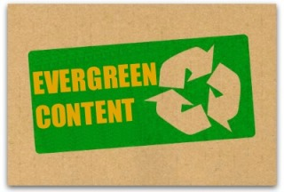 Evergreen content tag